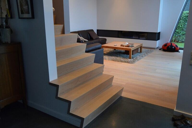 Z trappen voor een moderne look alken vloeren bvba